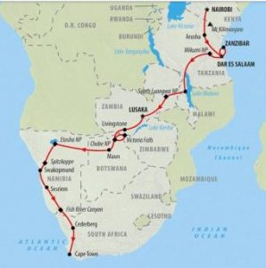 trip itinerary maps blue planet nomads
